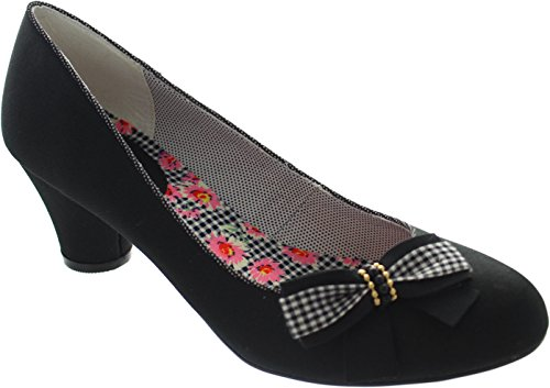 Zapatos Shoo Ruby Negro Negro Lilly Mujer qtddAw