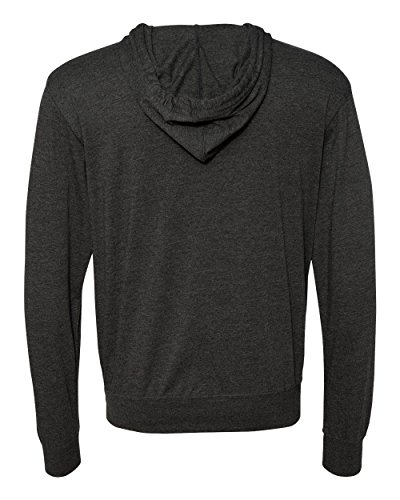 Independent Trading Co    Lightweight Jersey Hooded Full Zip T Shirt   Ss150jz