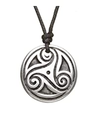 Triskele Pendant Path of Life Pewter