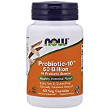 NOW Probiotic-10 50 Billion,50 Veg Capsules