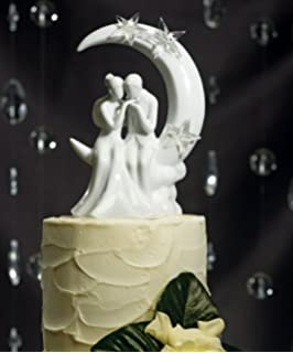 Weddingstar Written In The Stars Bride And Groom Couple Figurine For Cakes