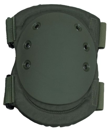 Damascus DKPOD Imperial Hard Shell Cap Knee Pads, Olive Drab ()