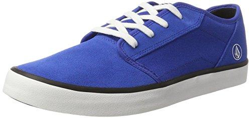 Trb 2 Bleu de Volcom True Homme Grimm Blue Noir Chaussures Skateboard Oxqxv4ap1