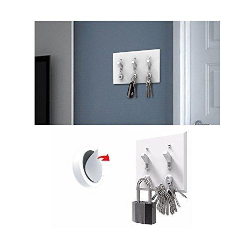 Vanki 6 Packs Magnetic Keys Holder Key Racks Organizer - Wal
