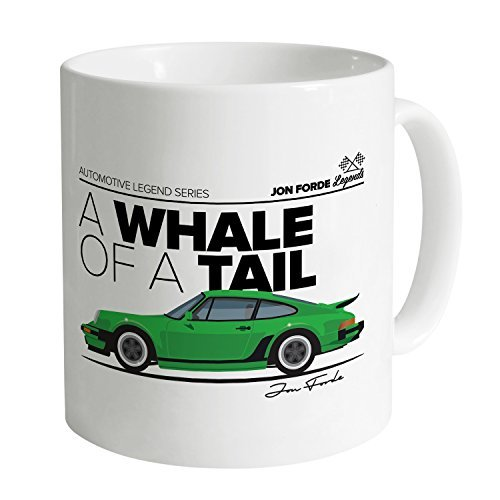 Jon Forde Whale Of A Tail Mug Automotive Legend - Legend Carolina Series