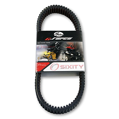 Gates Drive Belt 2006-2007 Yamaha YXR66F Rhino 660 Special Edition G-Force CVT Heavy Duty OEM Upgrade