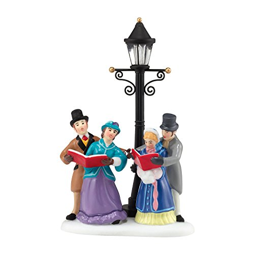 Department 56 Dickens' Village Caroling by Lamplight Accessory Figurine, 2.17 inch by Department 56