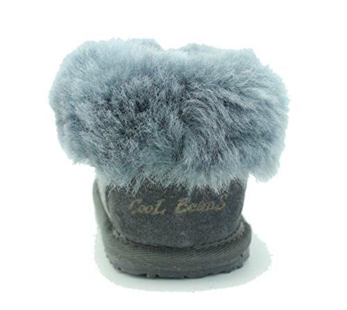 Cool Beans Sheepskin Childrens Slippers Warm Fur Winter Boots (Boys, Girls: Baby / Toddler size 5) by CooL BeanS (Image #3)