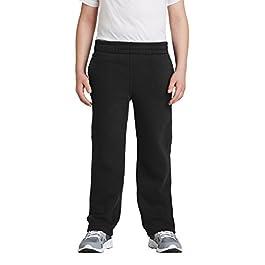 Sport-Tek – Youth Open Bottom Sweatpants. Y257