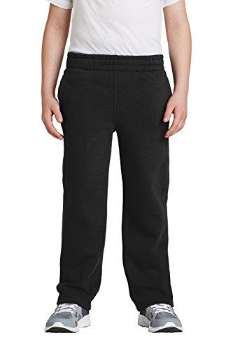 62faee1a277be2 Sport-Tek - Youth Open Bottom Sweatpants. Y257
