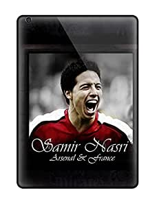 Ipad Air Hard Back With Bumper Silicone Gel Tpu Case Cover Samir Nasri