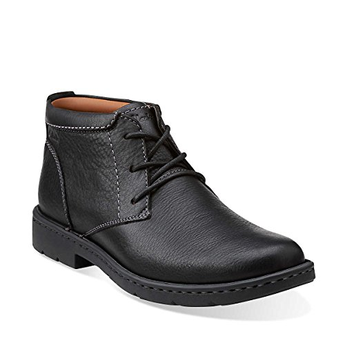 Clarks Men's Stratton Limit M Chukka Boot, Black, 9.5 M US