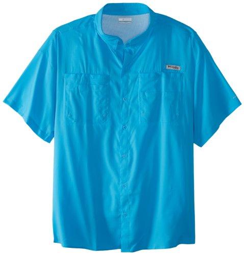 Columbia Men's Tamiami II Short Sleeve Fishing Shirt, Riptide, 4X by Columbia (Image #1)