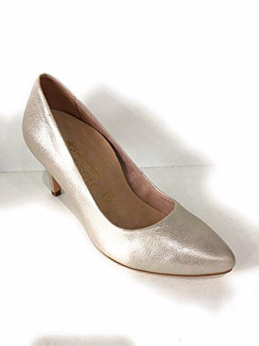 tamaris - Zapatos de vestir de Piel para mujer Dorado dorado