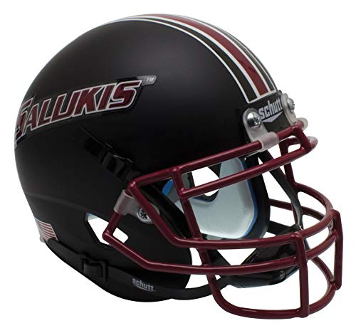 Schutt NCAA Southern Illinois Salukis Mini Authentic XP Football Helmet, Classic