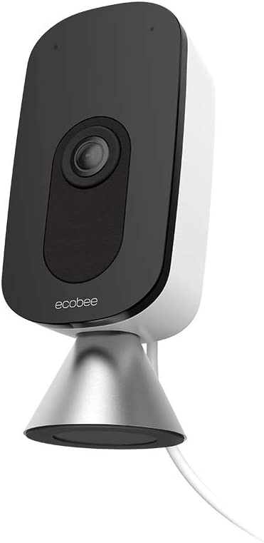 ecobee SmartCamera with Voice Control, Indoor Wi-Fi Camera, HomeKit Security, Alexa Built-In