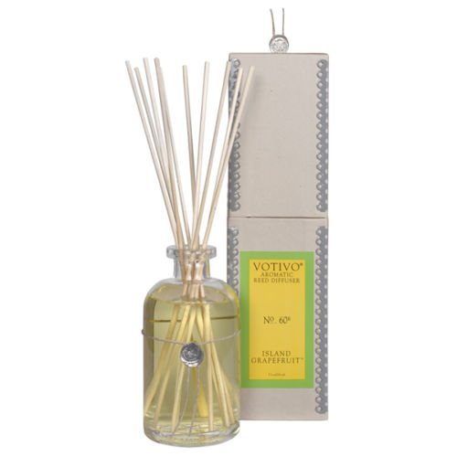 2 Pack Votivo Island Grapefruit #60 Aromatic Reed Diffusers by Votivo