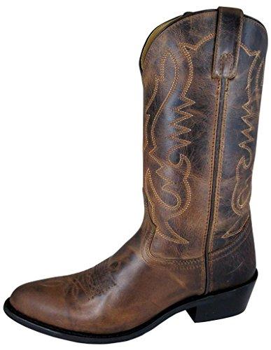 Smoky Mountain Men's Denver Cowboy Boot Round Toe