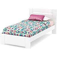 South Shore 39-Inch Reevo Bed with Headboard and Footboard, Twin