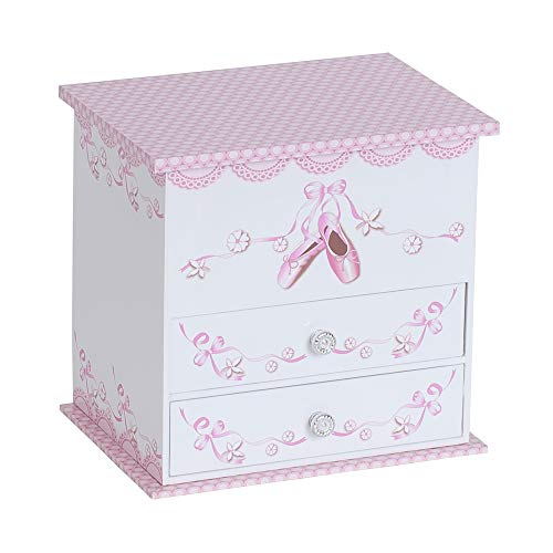 Mele & Co. Angel Ballerina Music Jewelry Box for Girls, Necklace and Earring Organizer from Mele & Co. Since 1912