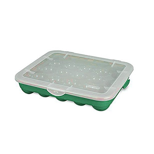 - Sterilite Christmas Ornament Storage Case.