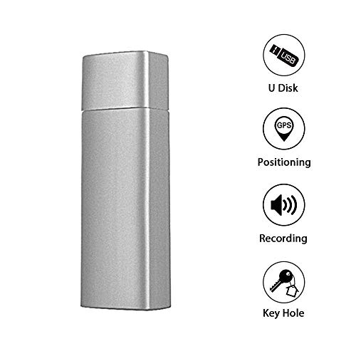 GF-17 32GB U Disk GPS Tracker Intelligent Voice Recording Shock Alarm Free APP Locator WiFi AGPS LBS Real-time Positioning Long Standby 32GB USB Flash Drive Memory Stick