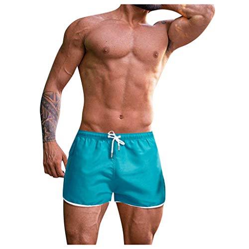 Mwzzpenpenpen Men Casual Printing Waterproof Beach Trunks Surfing Swimming Loose Short Pants Quickly Dry Swimwear
