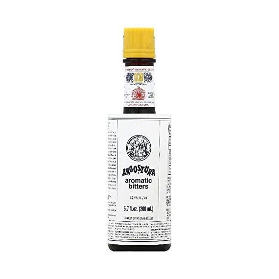 Angostura Aromatic Cocktail Bitters 200 ml 6.7oz (Pack of 3) 1 Made from a secret formula. A unique blend of herbs and spices. Great for flavoring numerous classic cocktails.