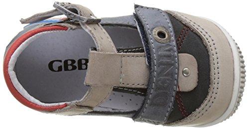 GBB Paul - Zapatos de primeros pasos Bebé-Niñas Bleu (Vte Gris-Jeans Dpf/Raiza)
