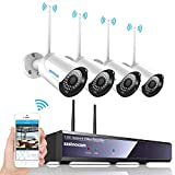 [2019 Updated] Wireless Security Camera CCTV Systems, SZSINOCAM 4-Channel Full HD 1080P NVR