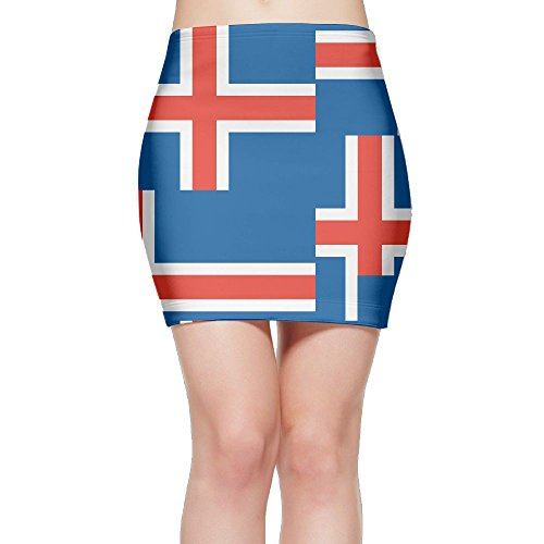 Cheap ORINEA Originality Iceland Flag Mini Skirt Classic Skirt Printed Skirt Stretchy Skirts Fashion Skirt Professional Leisure for cheap wMa1CfOr
