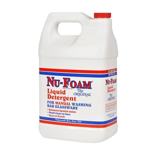 Glissen Chemical Nu-Foam Detergent, 1 gal., Plastic Jug, Liquid | 4/Case by Glissen Chemical Company