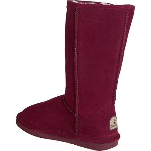 BEARPAW Damen Emma Tall Fashion Boot Bordeaux