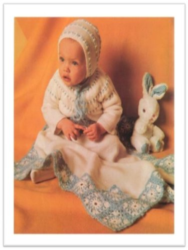 [#1503 LITTLE MISS MUFFET VINTAGE KNITTING PATTERN] (Little Miss Muffet Outfit)
