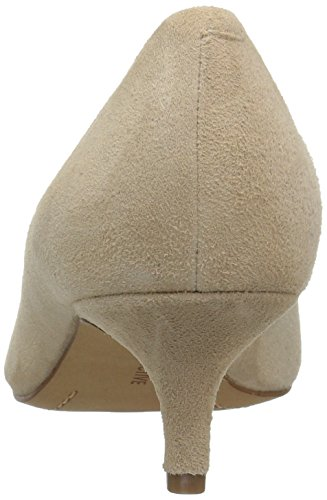 206 Collective Women's Queen Anne Kitten Heel Dress Pump Nude Suede clearance limited edition cheap Manchester sale clearance store find great online cheap 100% original 1Lca52M5Z