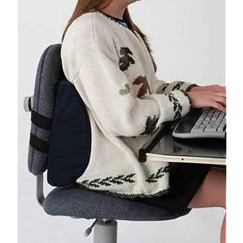 primetrendz tm lumbar cushion in black this lumbar support office chair back. Black Bedroom Furniture Sets. Home Design Ideas