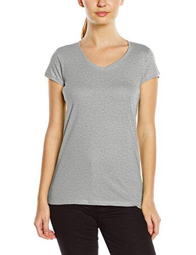 Stedman Apparel Megan (V-neck)/ST9130 Premium-camiseta Mujer gris