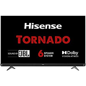 Hisense 139 cm (55 inches) 4K Ultra HD Smart Certified Android LED TV 55A73F (Black) (2020 Model) | With JBL 6 Speaker… 14 41neEcXJ6iL. SS300