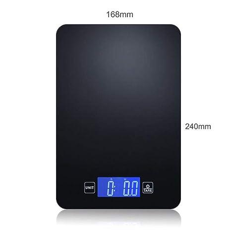 Bo Yi Bascula Cocina bascula Digital Vidrio Templado Balanza de Cocina Smart Bluetooth App Balanza nutricional 5kg Moda de Precision Escala electrónica ...