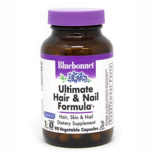 (Bluebonnet Nutrition, Hair and Nail Ultimate, 90 Veggie)