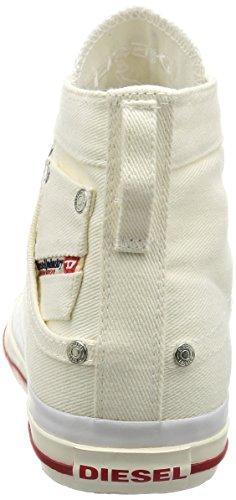 Sneakers montantes denim blanc Exposure pour homme -