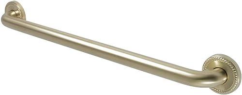 Kingston Brass DR814247 ROPED 24 Decorative Grab Bar
