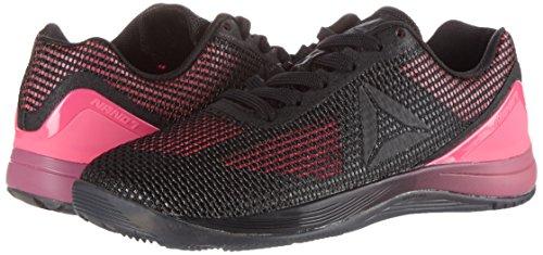 De Nano B white Black 7 Pink Fitness Chaussures solar 0 Crossfit Femme lead Reebok R Noir xfgqw014w