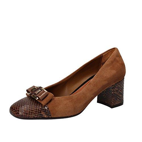 Zapatos marrones Melluso para mujer kbkbw