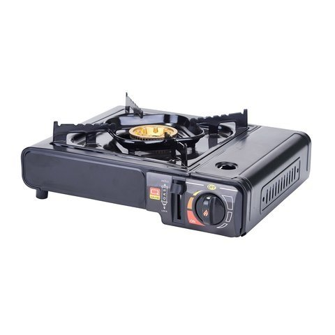 Winco PGS-1K, Portable Gas Cooker, 9500 BTUs, Brass Burner with Carrying Case