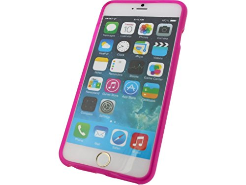 Mobilize Gelly Case Apple iPhone 6 Plus Transparent Pink