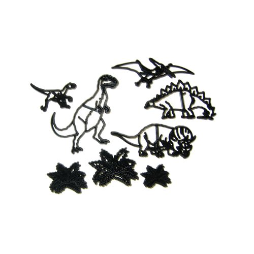 Patchwork Cutters - Dinosaur Set - Sugarcraft Cutter KitchenCenter 0570