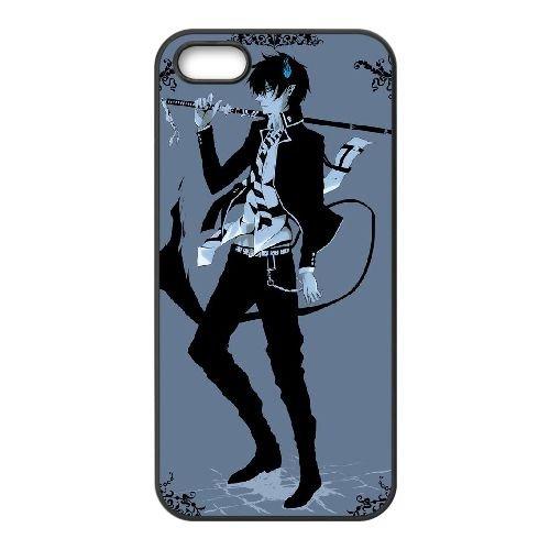Blue Exorcist Q1I09U4IP coque iPhone 4 4s case coque cover black W0C33S