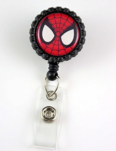Super Hero Spiderman - Nurse Badge Reel - Retractable ID Badge Holder - Nurse Badge - Badge Clip - Badge Reels - Pediatric - RN - Name Badge Holder