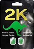 Kangarooos for Men Sexual Potency, Hard Erection, Strong Orgasm 2 Pills